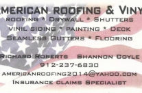 fake-american-roofing-business-card