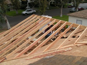 Home Roofing Frame